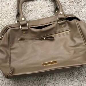 Betsey Johnson Bags - Betsey Johnson taupe purse